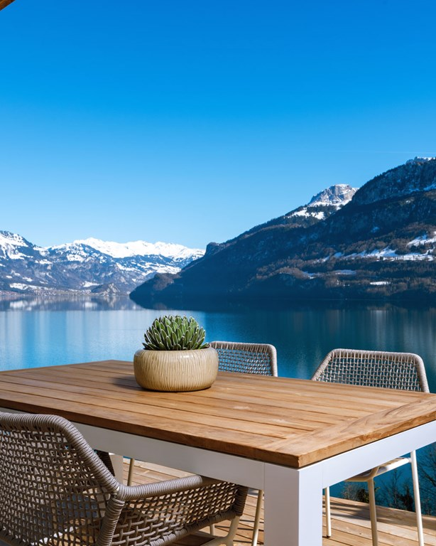Balcony With View Florens Resort Brienzersee Interlaken