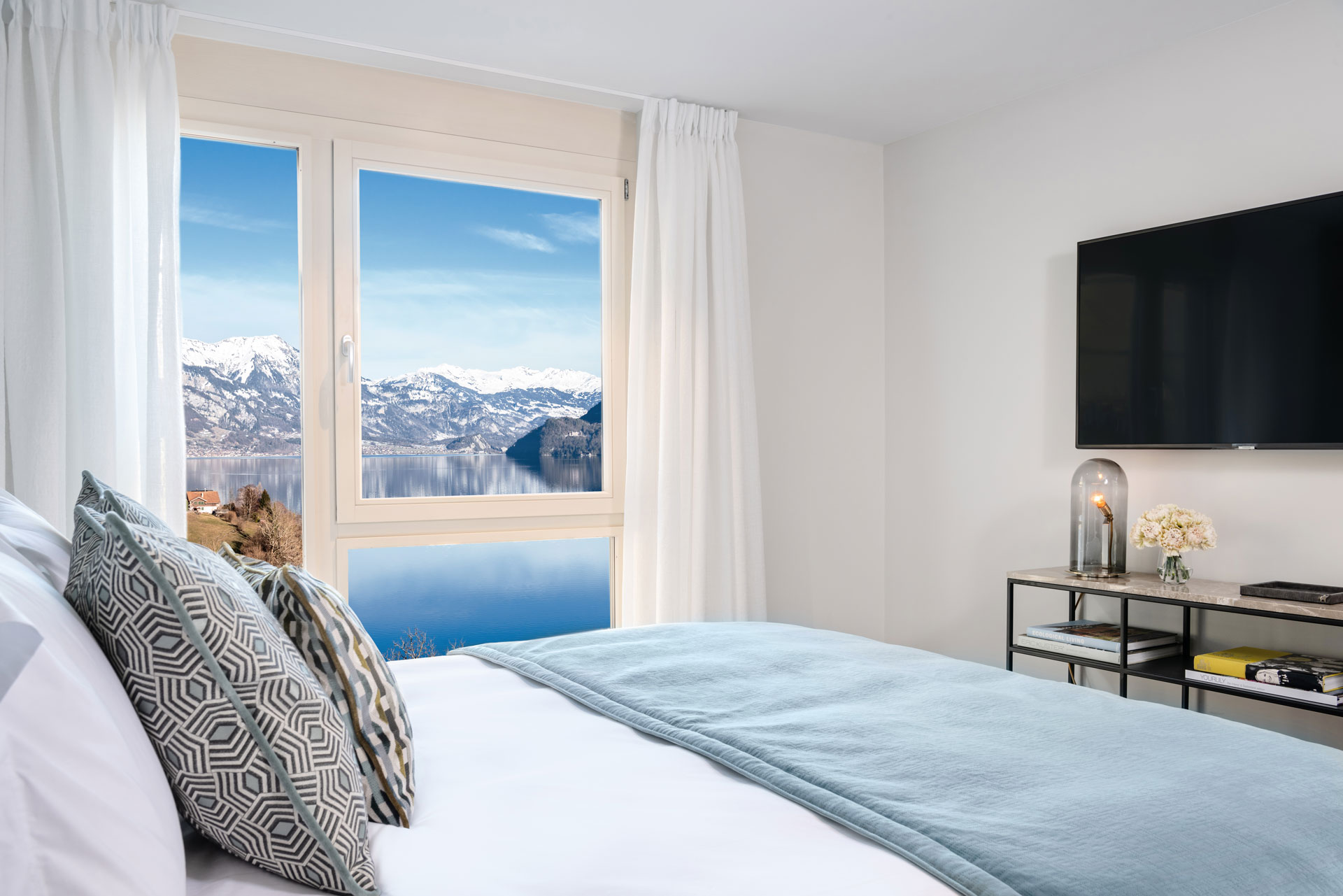 Double Bedroom 2 Florens Resort Brienzersee Interlaken